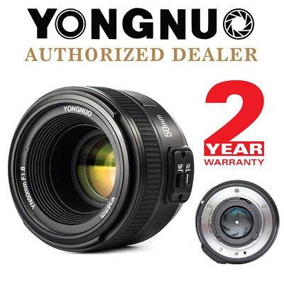Yongnuo YN 50mm F / 1.8 Autofokus Objektiv Lens für Canon EF Mount EOS Kamera