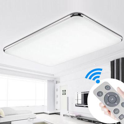 LED Ultraslim Dimmbare Deckenleuchte Badleuchte Deckenlampe Flurleuchte +FB