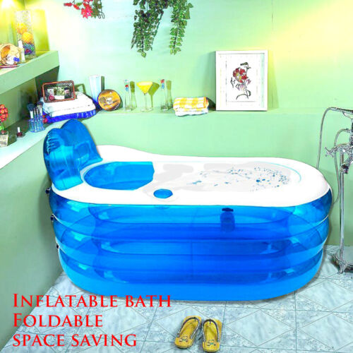 neu Erwachsene Spa Badewanne warme aufblasbare Badewanne Faltbare Durable PVC
