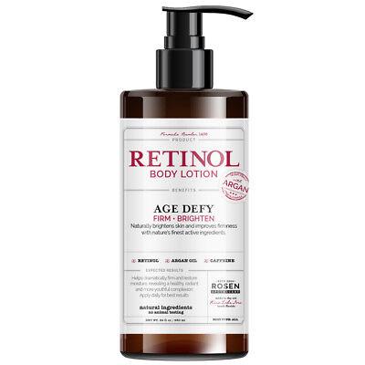 Rosen Apothecary Anti-Aging Retinol Body Lotion - Age Defy - Body Firms & Bright