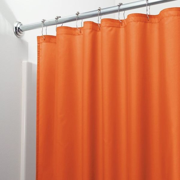 HEAVY DUTY MILDEW FREE VINYL WATERPROOF SHOWER CURTAIN LINER WITH MAGNETS NEW 8