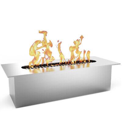 Moda Flame Slim 8 Inch Bio Ethanol Fireplace Burner Insert 0.5 Liter
