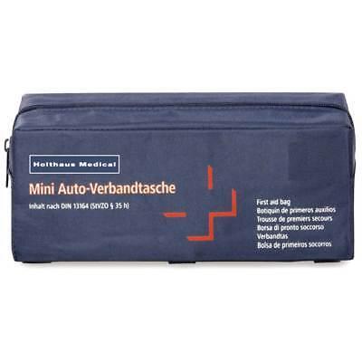 Mini Verbandtasche fürs Auto, KFZ Verbandskasten Notfall Erste-Hilfe, 22x8,5x8cm