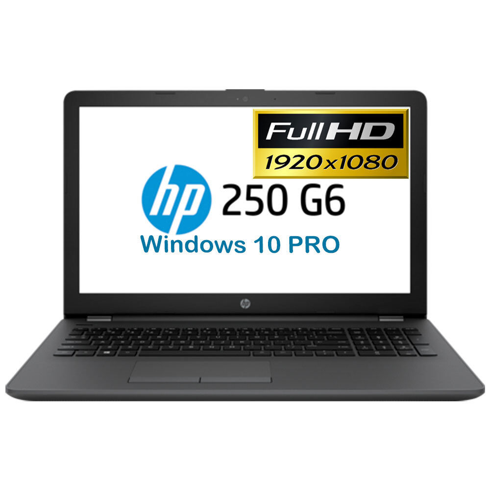 HP 15,6 Zoll POWER NOTEBOOK - INTEL i5 3,1GHz Turbo, 8GB DDR4, 256GB SSD, Win 10