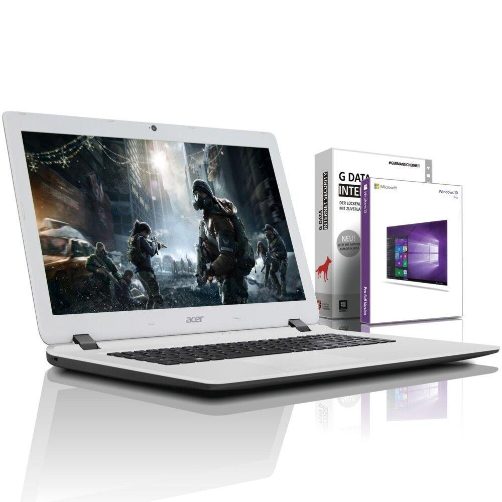 "Acer 17.3"" Laptop - Intel 4x2.50 GHz - 8GB - 1TB - USB 3.0 - HDMI - Win10 Prof"