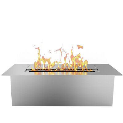 "Regal Flame Slim 12"" Ventless Bio Ethanol Fireplace Burner Insert - 1.5 Liter"