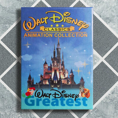Walt Disney 24 Classics Movie Collection Lot DVD 12-Disc Box Set Fast Shipping