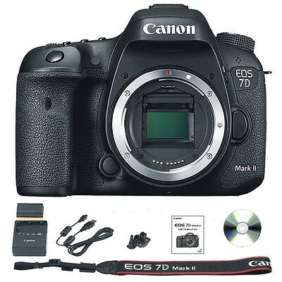 Canon EOS 7D Mark II / MK 2 Camera Body Only DSLR Brand New