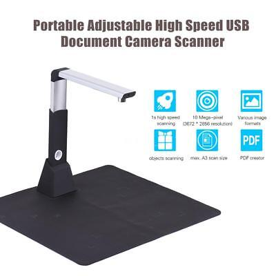 A3 Portable USB Buch Dokument Scanner mit LED-Licht Höhe Einstellbar High Speed