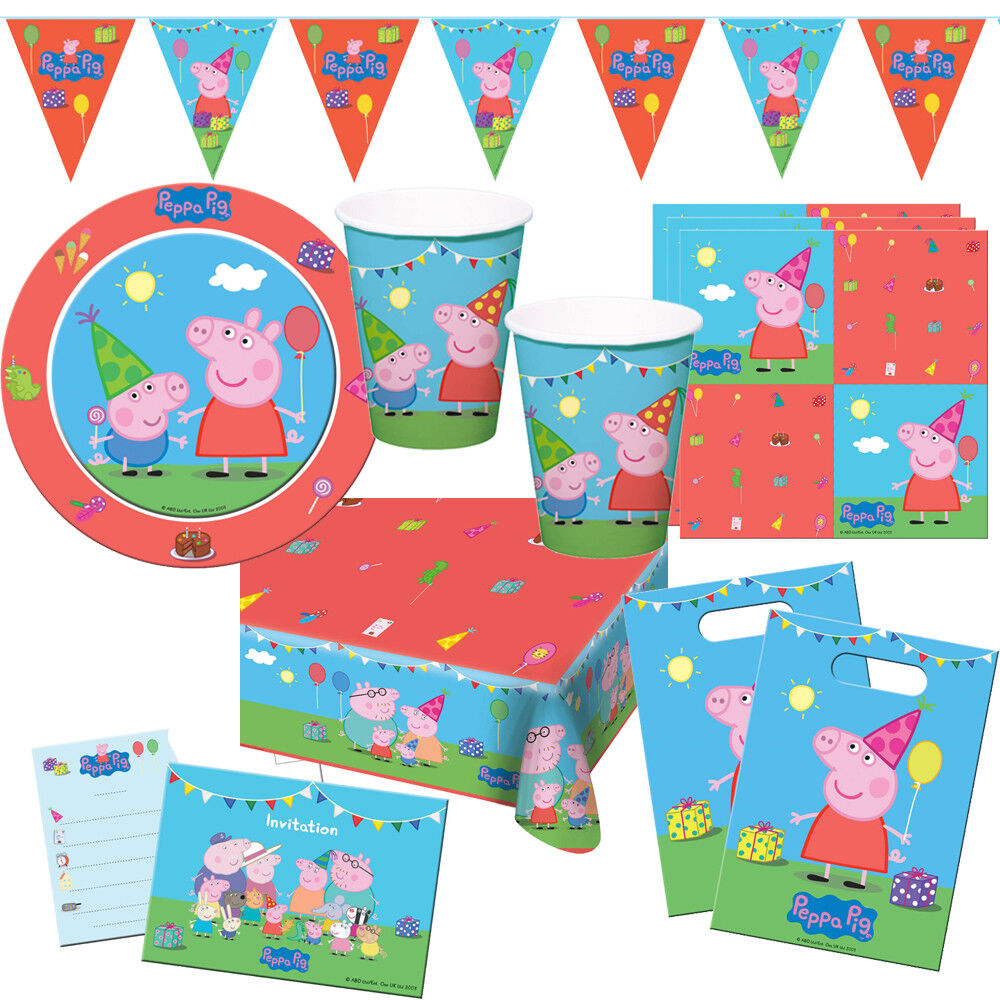 Peppa Wutz Peppa Pig Kindergeburtstag Auswahl Deko Party Dekoration Geburtstag