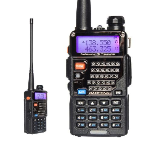 BaoFeng UV-5RE 2M/70cm Amateurfunk Hand-funkgerät Walkie-Talkie PMR CTCSS 2018