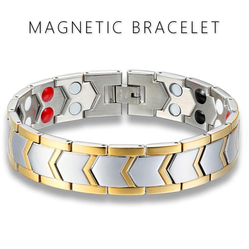 Magnetische Armband Herren Damen Bracelet Armbänder Schmerzlinderung Schmuck Neu