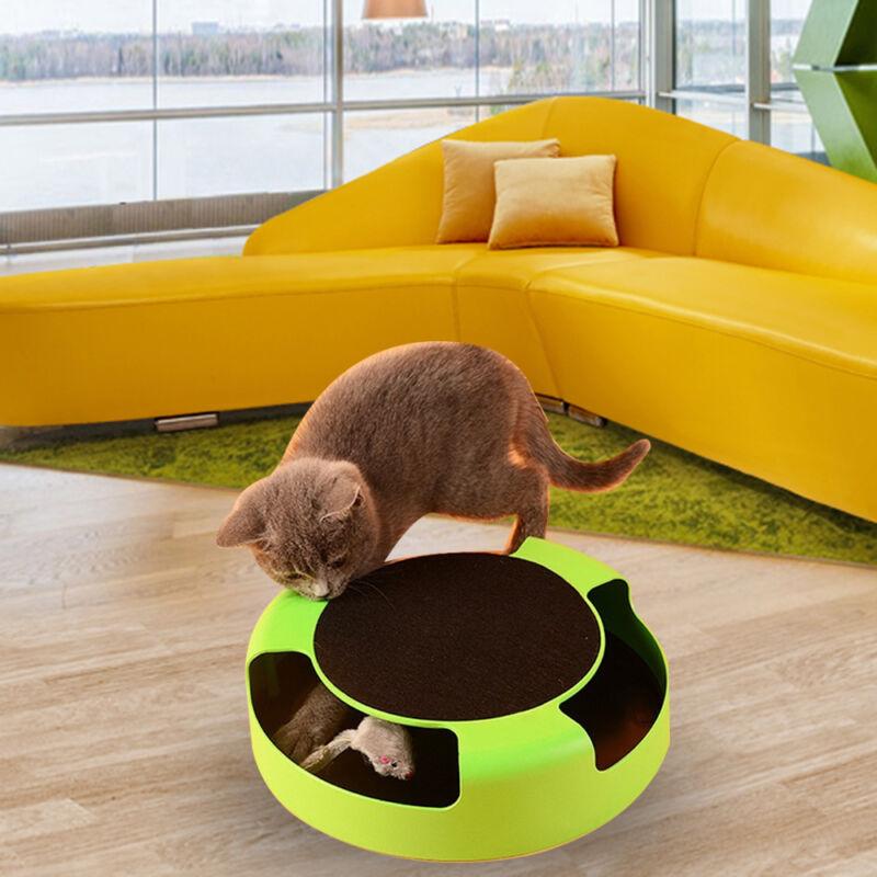 Katzenspielzeug Maus Cat Toy Katze Fang Maus Spielzeug Training Fernbedienung