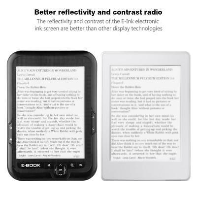 Tragbares E-Paper E-Ink 6 Zoll E-Reader Paperwhite Ebook Reader Anzeige