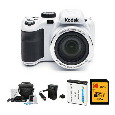 Kodak PIXPRO Astro Zoom AZ421 16 MP Digital Camera with 42X Zoom 32GB Bundle