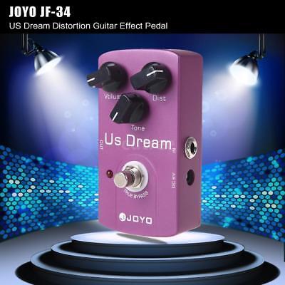 JOYO JF-34 US Dream Verzerrung Gitarre Effekt Pedal True Bypass K9F6