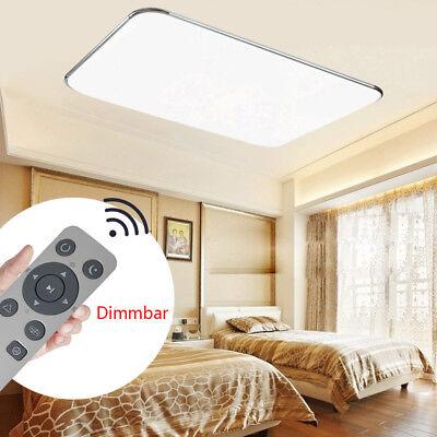72W LED Panel Deckenleuchte Deckenlampe Flurleuchte Dimmbare Wandlampe Lampe