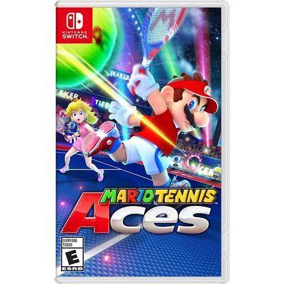 Mario Tennis Aces Nintendo Switch Game - Brand New Sealed