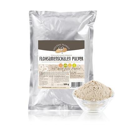 Flohsamenschalen Pulver gemahlen 95%  indisch 60 mesh 500g