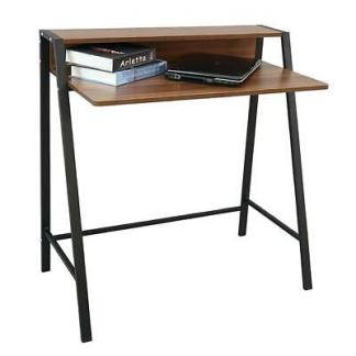 2 Tier Computer Desk Home Office PC Laptop Study Writing Table
