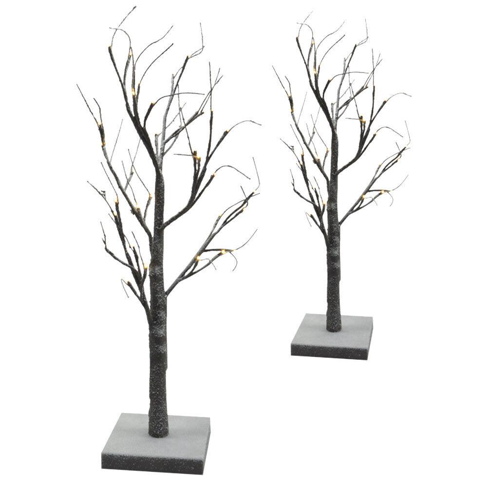 Weihnachtsbaum LED Lichtbaum Weihnachts-Deko Lichterbaum Schnee beflockt Baum