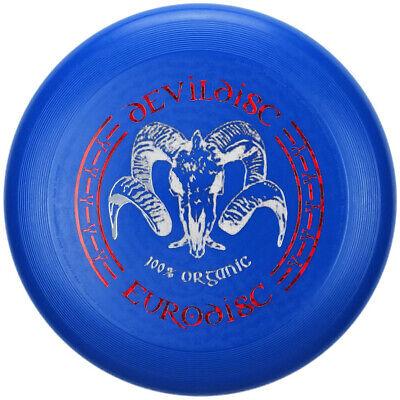 NG - Eurodisc 175g Ultimate BIO-Kunststoff Frisbee Devildisc DUNKELBLAU Metallic