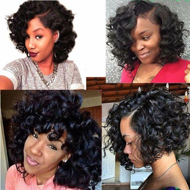 details about molefi brazilian funmi hair loose wave 4 bundles spiral curl hair bundles short