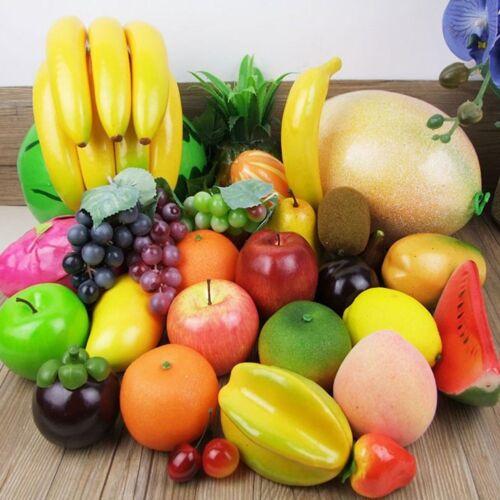 Künstliche Früchte Dekoobst Trauben Ananas Mango Kunstobst 23 versch Obstsorten