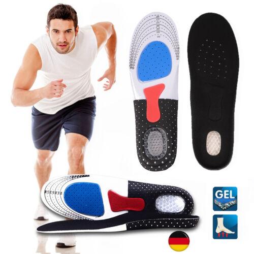 2X DIY Schuheinlagen Fußbett Gel Einlegesohle orthopädische Schuh Einlagen Sohle
