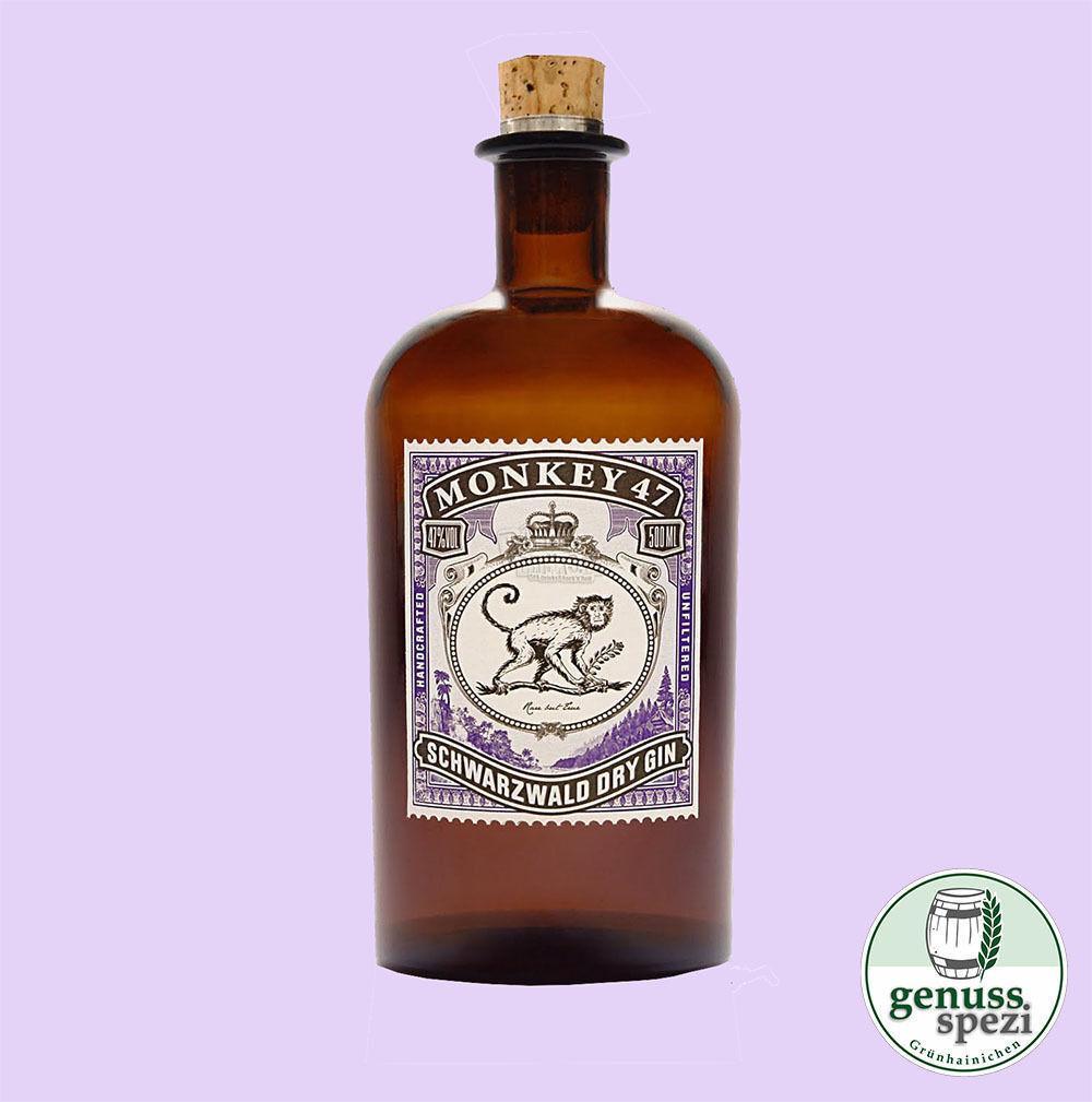 MONKEY 47 Gin Schwarzwald Dry Gin Black Forest Distillers 500ml 47%