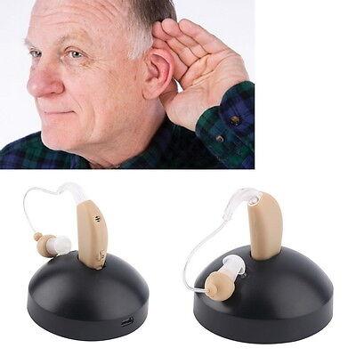 Hörverstärker-hörgeräte-Sound Genie wiederaufladbarer mit schnell ladegerät CG