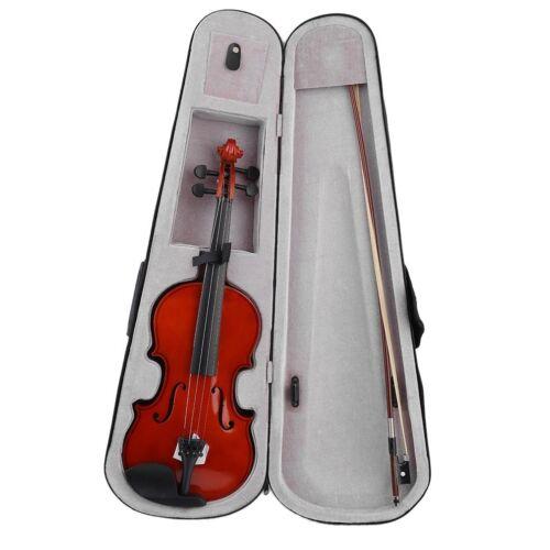 4/4 Violine Geige Für Anfänger Koffer Bogen Streichinstrument Kinder Schülegeige