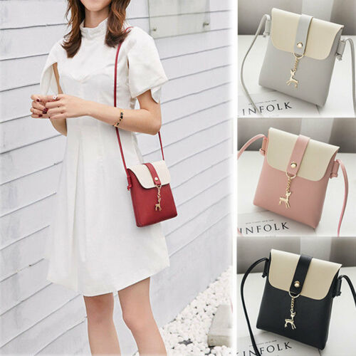 Women Leather Handbag Shoulder Lady Cross Body Bag Tote Messenger Satchel Purse 1