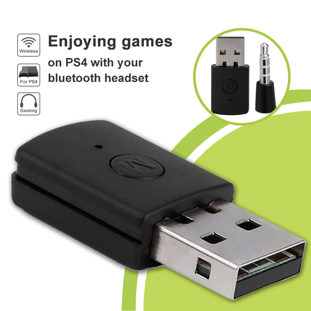 Bluetooth Dongle 4.0 USB Bluetooth Adapter Receiver For PS4 Controller Console@H