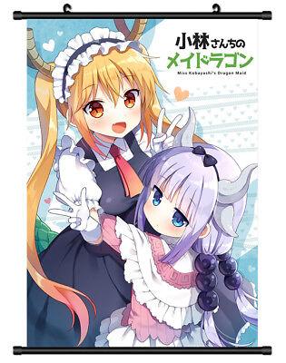 4813 Kobayashi san Chi no Maid Dragon Decor Poster Wall Scroll cosplay