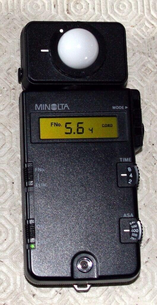 Minolta Light Meter Iii Manual