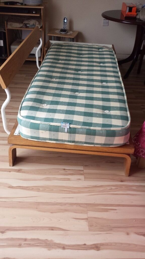 Single Bed With Mattress Can Be Used As Sofa Free Local Delivery