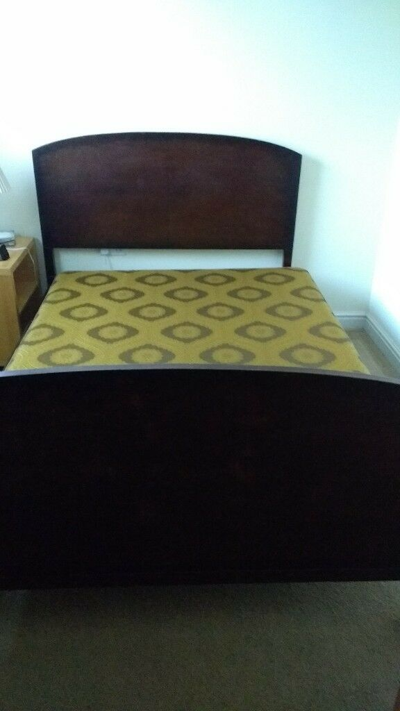 1950 S Style Double Bed Without Mattress
