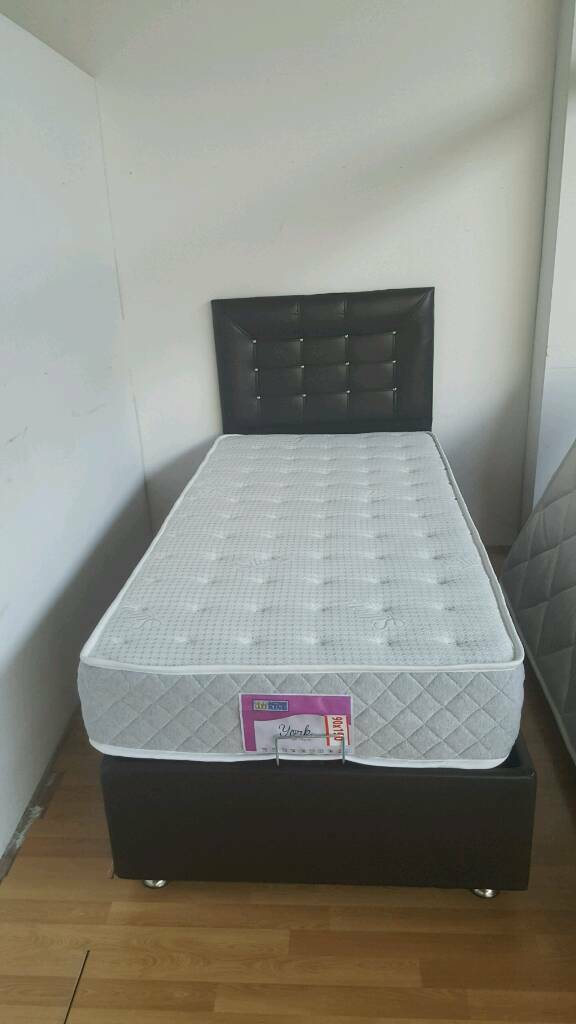 Brand New Single Mattress Pocket Sprung Antibacterial From 49 90