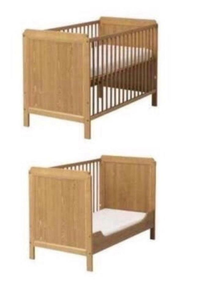 Ikea Baby Toddler Cot Bed And Mattress Like New