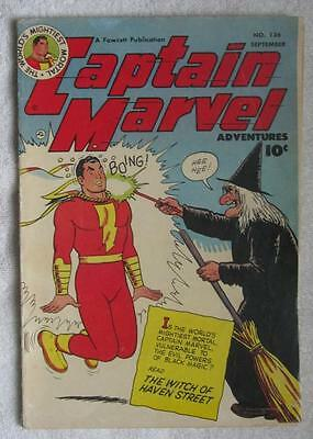 Image result for Captain Marvel Adventures 136