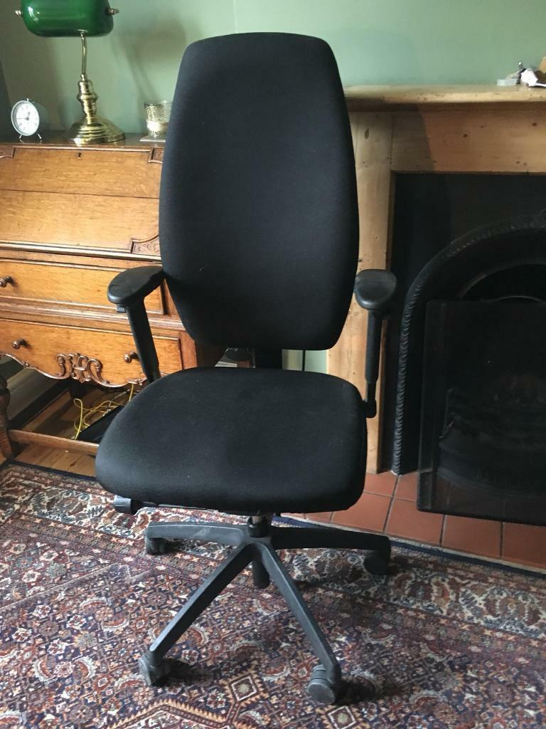 Posturite Positiv Plus High Back Office Chair In Cambridge
