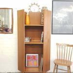 Mid Century Retro Corner Bookcase In South East London
