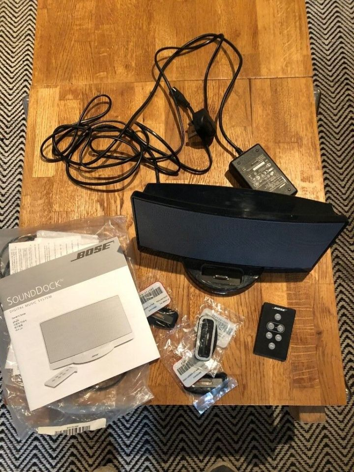 Bose Sounddock Digital Music System Spare Parts | Cardbk co