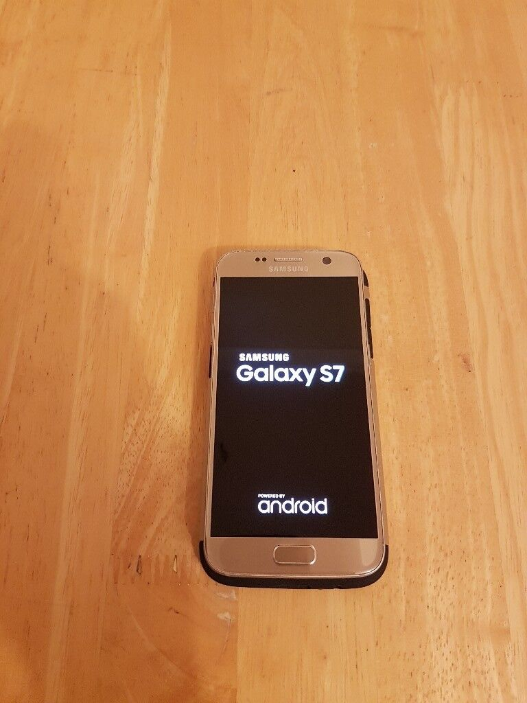 Second Hand Used Samsung Galaxy S7 Gold Unlocked 32gb Of
