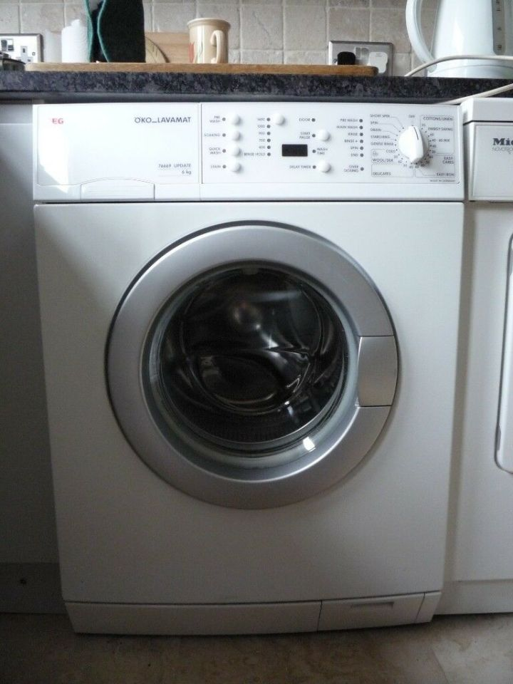 Aeg Oko Lavamat 76669 Update 6kg Washing Machine For Spare Parts
