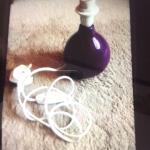 Purple Lamp Base In Hove East Sussex Gumtree