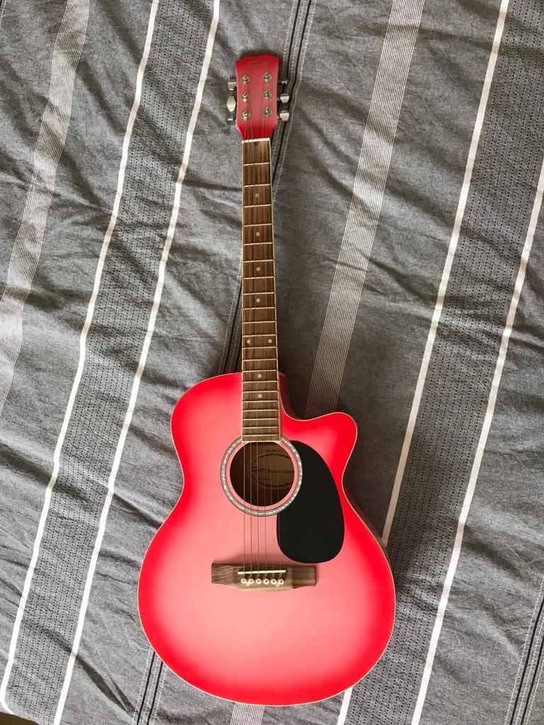swift music london sunburst acoustic guitar | in norwich, norfolk