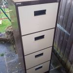 2 Large 4 Draw Metal Filing Cabinets Buy One Or Two From Staples Office World In Godalming Surrey Gumtree