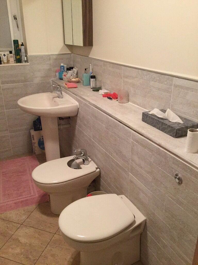 PERGAMON COLOUR BATHROOM Basin Pedestal Bidet Amp Back To